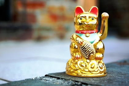 金の招き猫