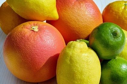 色んな柑橘系のフルーツ