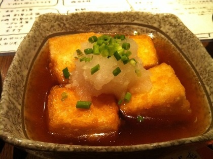 美味しい揚げ出し豆腐