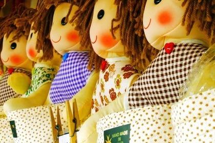 手作りの人形