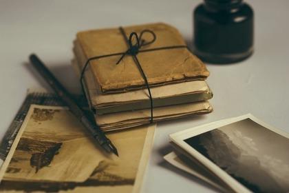 古い写真と手紙