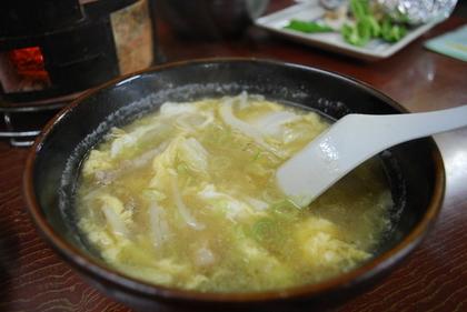 中華料理店のスープ