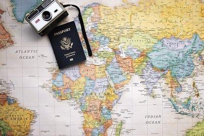 地図とカメラ