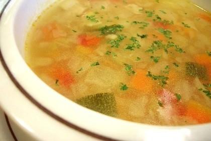 コンソメのスープ