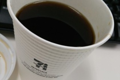 セブンイレブンのホットコーヒー