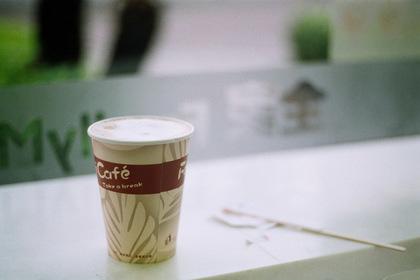 FamilyMartのホットコーヒー