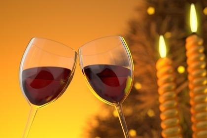 濃厚な赤ワイン