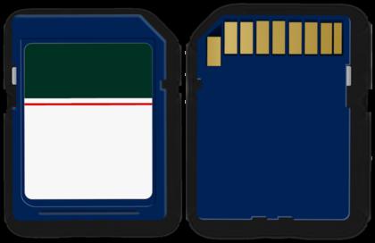 SDカードの裏表