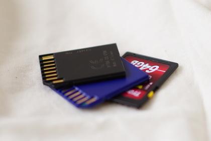 複数のSDカード
