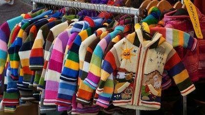 カラフルなジャケット