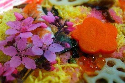 きれいなちらし寿司