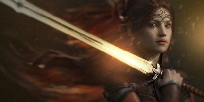 女性の勇者