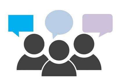 人々の会話のイメージ