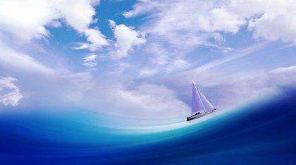漂流する帆