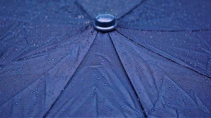 傘のアップ