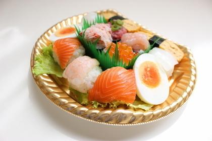 可愛いてまり寿司