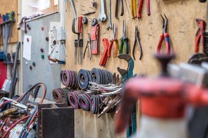 色んな工具や刃物