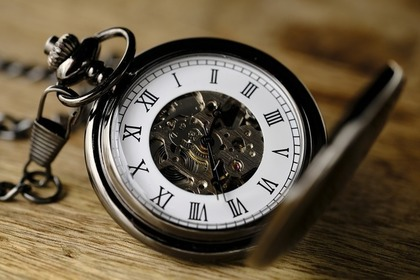 アンティークの懐中時計