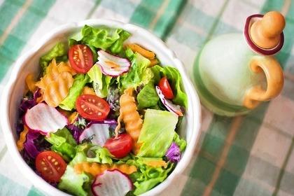 彩豊かなサラダ