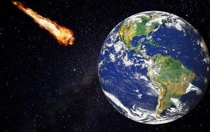 衝突する隕石
