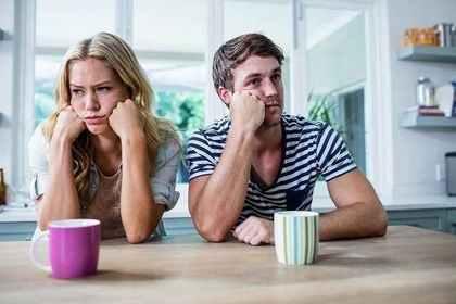 相性の良くないカップル