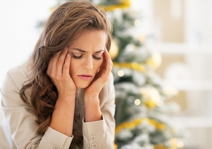 ストレスがある女性