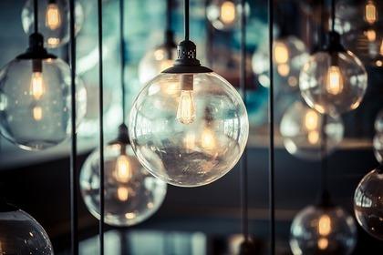 ガラスの電球