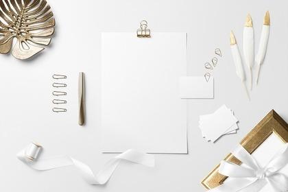 白い文房具