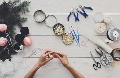 花輪を作る趣味