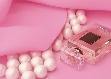 真珠と香水