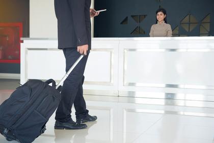 空港 受付