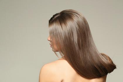 艶やかな髪の毛
