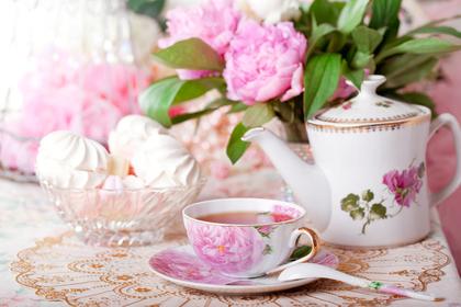 紅茶とお花