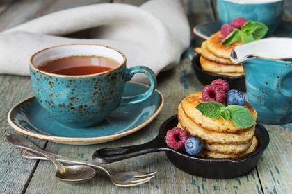 紅茶とお菓子でおやつタイム