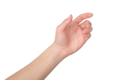 ひっかける手
