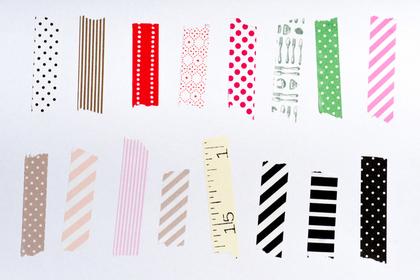 いろいろな種類のテープ