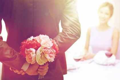 プロポーズする人