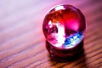 綺麗なガラス玉