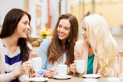 女子同士の会話