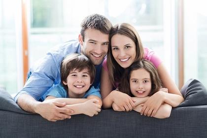 明るい家族