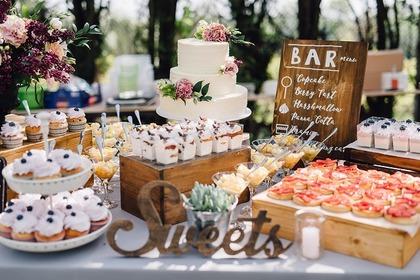 沢山のケーキ