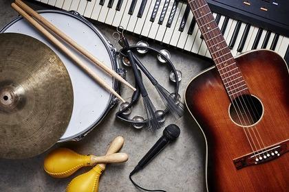 沢山の楽器