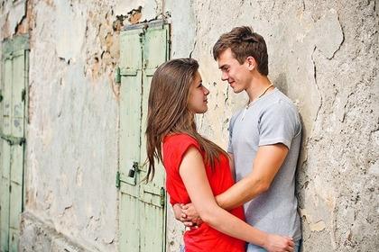 恋をする人の画像