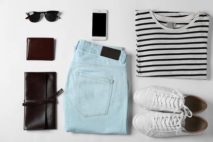 シャツとパンツと靴と小物