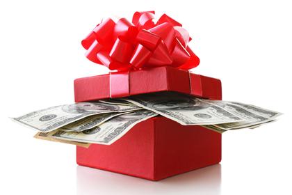 お札のプレゼント