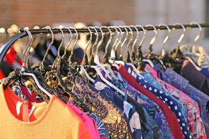 たくさんの洋服