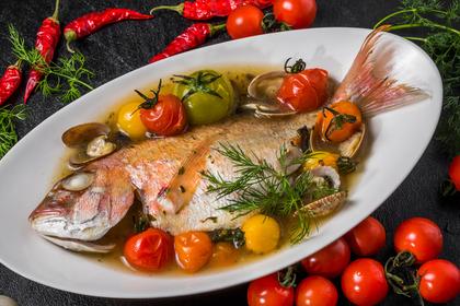 シリコンスチーマーで魚調理
